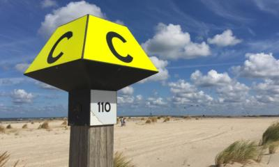 110 Monster Beach sign