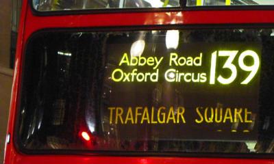 139 London bus